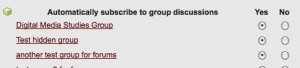 Users can subscribe or unsubscribe from entire groups on the Notification Settings page